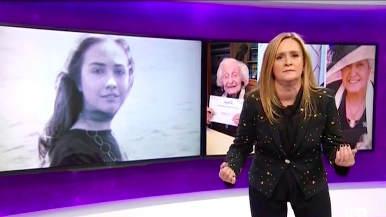 Samantha Bee's Final Pitch for 'Hillary Goddamn Brilliant Badass Queen Beyoncé Rodham'