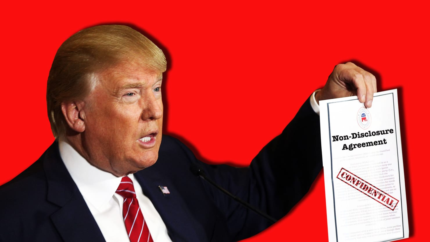 Trump Cant Legally Make New Staff Sign Ndasyet