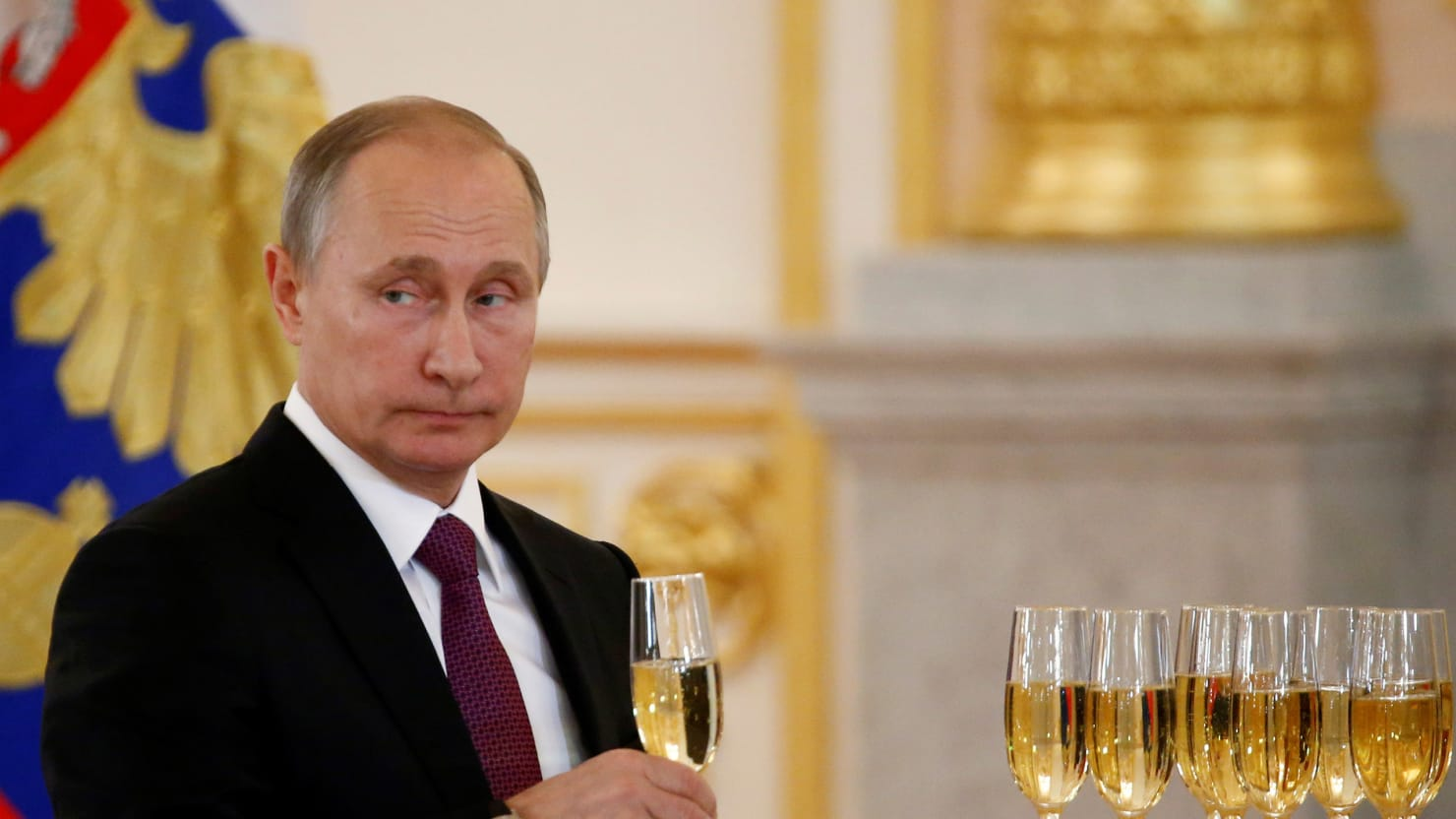Image result for PUTIN CELEBRATING ELECTION OF TRUMP