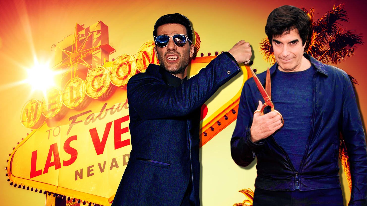 Criss angel vs david copperfield vegass two biggest magicians photo illustration by lyne lucienthe daily beast biocorpaavc