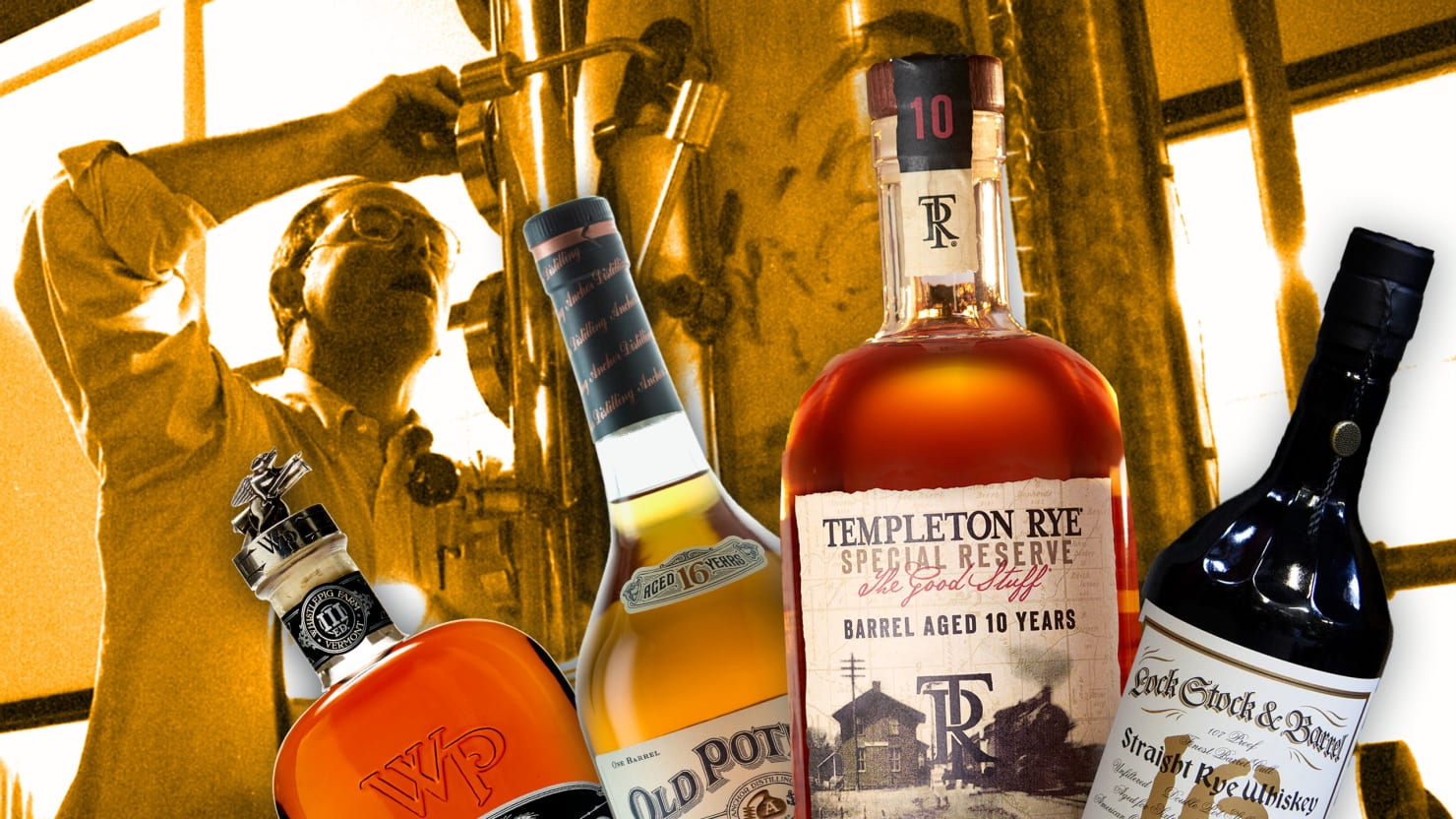The High-Priced World of Rye Whiskey