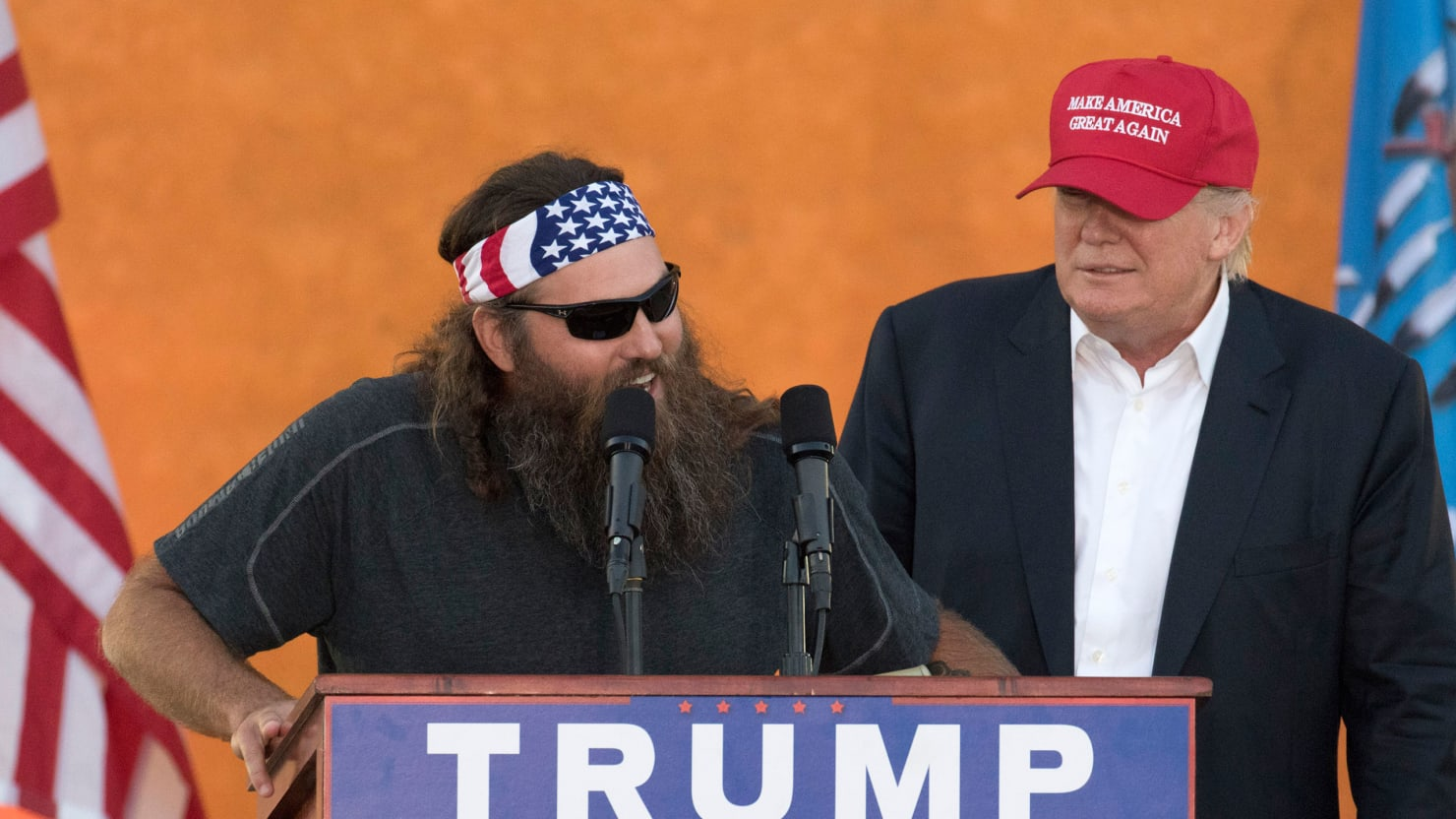Trump Facial Hair