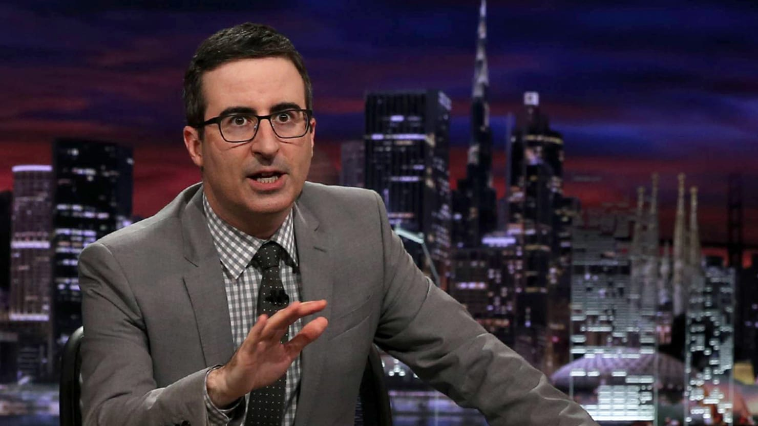 John Oliver: We Must Fight Trump, a 'Klan-Backed Misogynist Internet Troll'