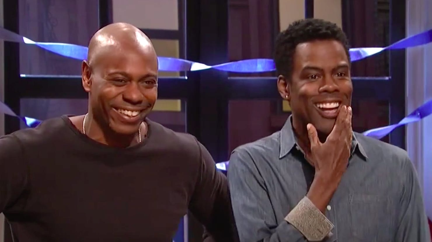 SNL's Dave Chappelle, Chris Rock Not Surprised by Trump Win: 'You Ever Been Around This Country?'