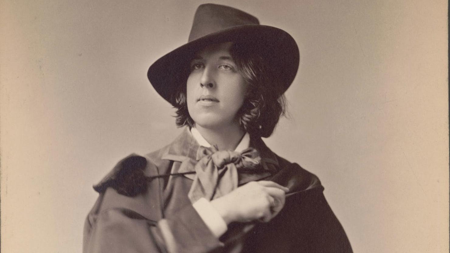 The Paris Exhibit Celebrating The Scandalous Brilliance of Oscar Wilde