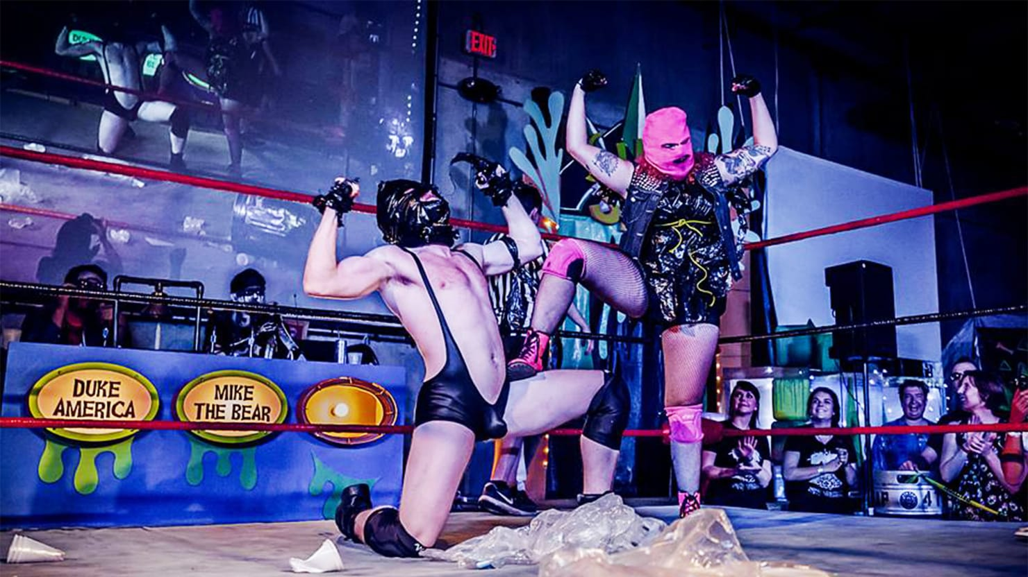 the pro wrestling promoter helping women fight back in trump u0027s america