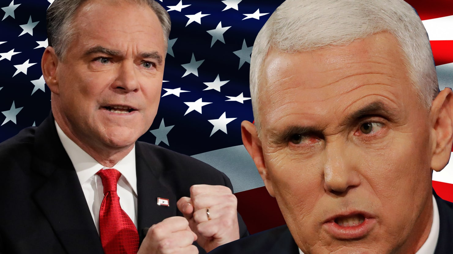 Torturous Debate >> Mike Pence Ditches Donald Trump, Starts His 2020 Run at VP Debate