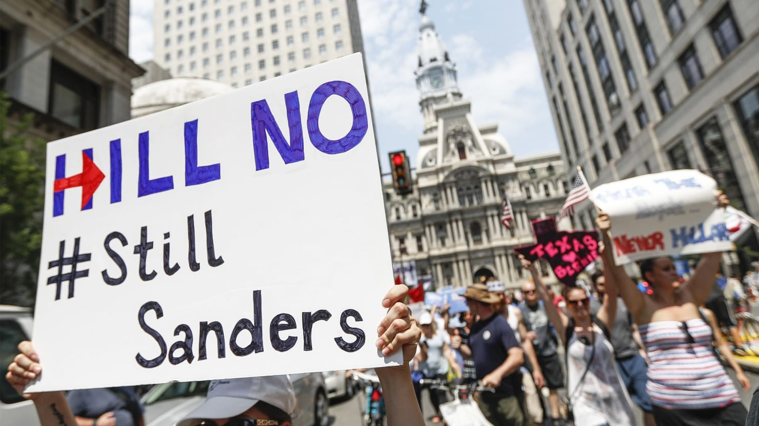 Despite Donald Trump, Many Bernie Sanders Supporters Won't Forgive Hillary Clinton