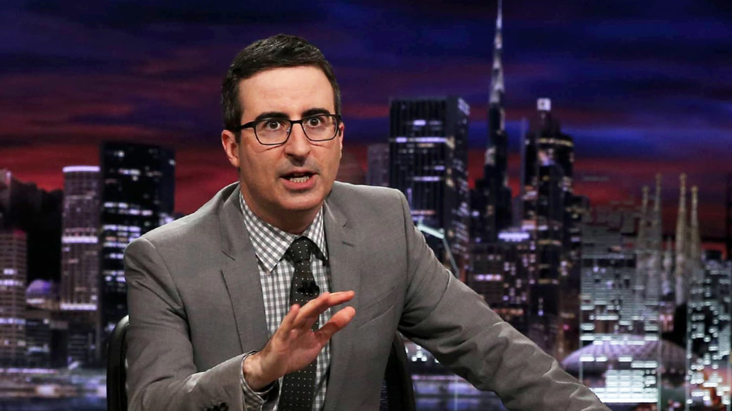 John Oliver Calls Out Pervert Anthony Weiner Over Hillary's Emails