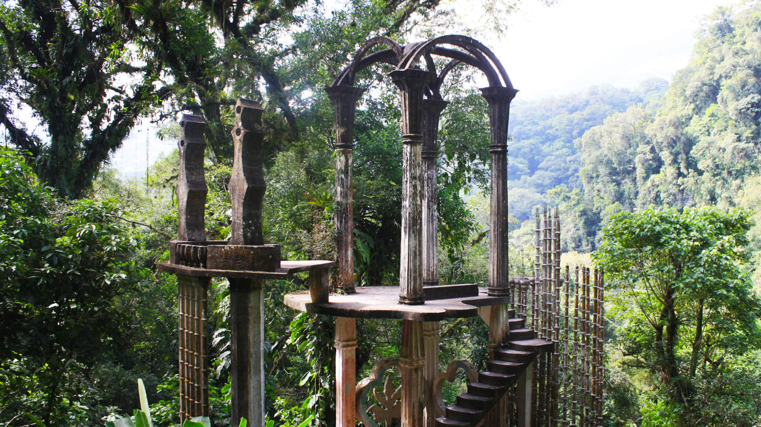 Las Pozas: A Royal Wizard's Psychedelic Palace in the Mexican Jungle