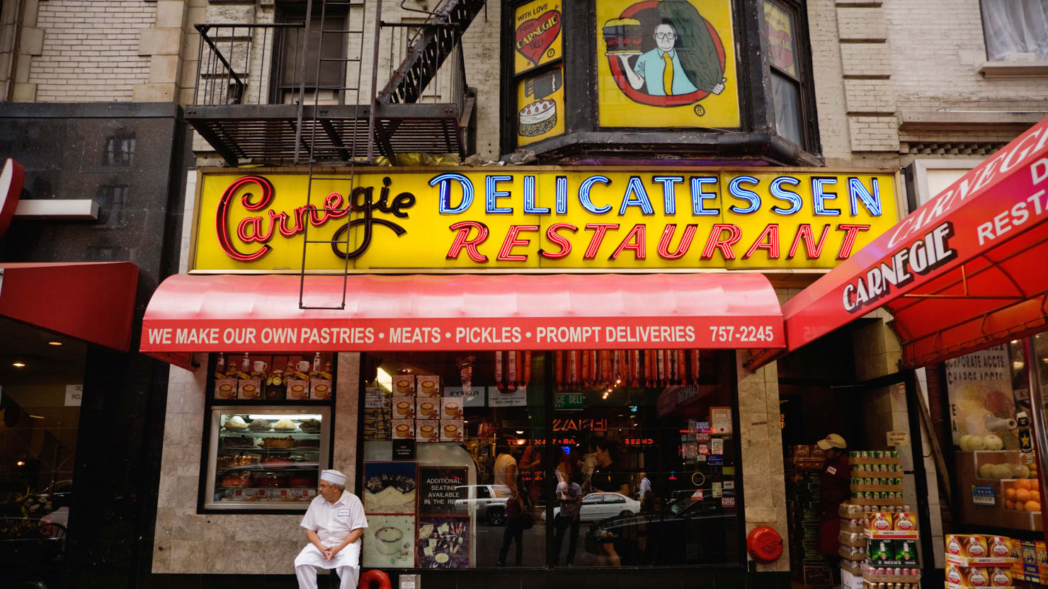 A Last Meal in Pastrami Paradise: Saying Goodbye to New York's Carnegie Deli