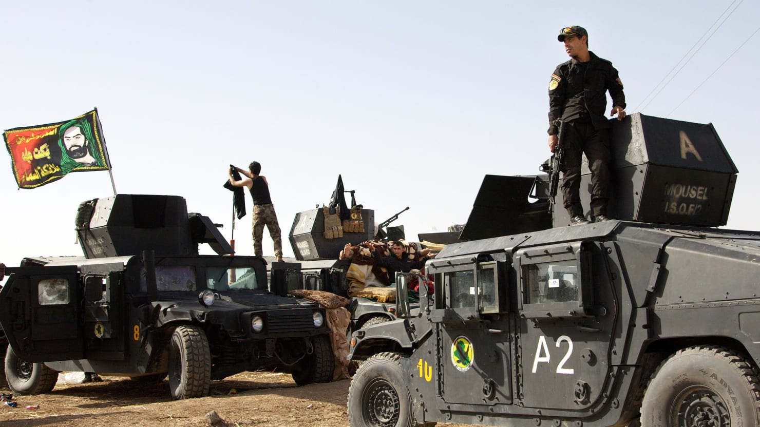 The Biggest Battle Yet Against ISIS Has Begun in Mosul