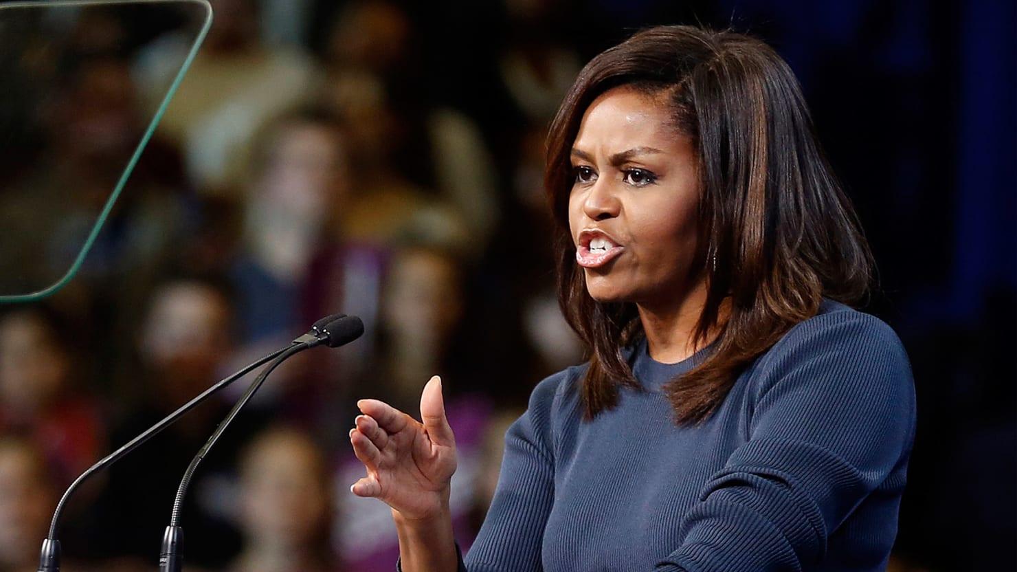 Michelle Obama just said some very powerful words against Donald Trump