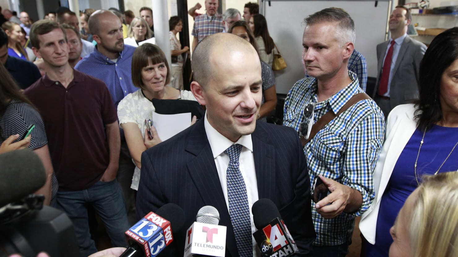 Utah Rejects Donald Trump's Advances, as Evan McMullin Emerges as the Conservative Alternative