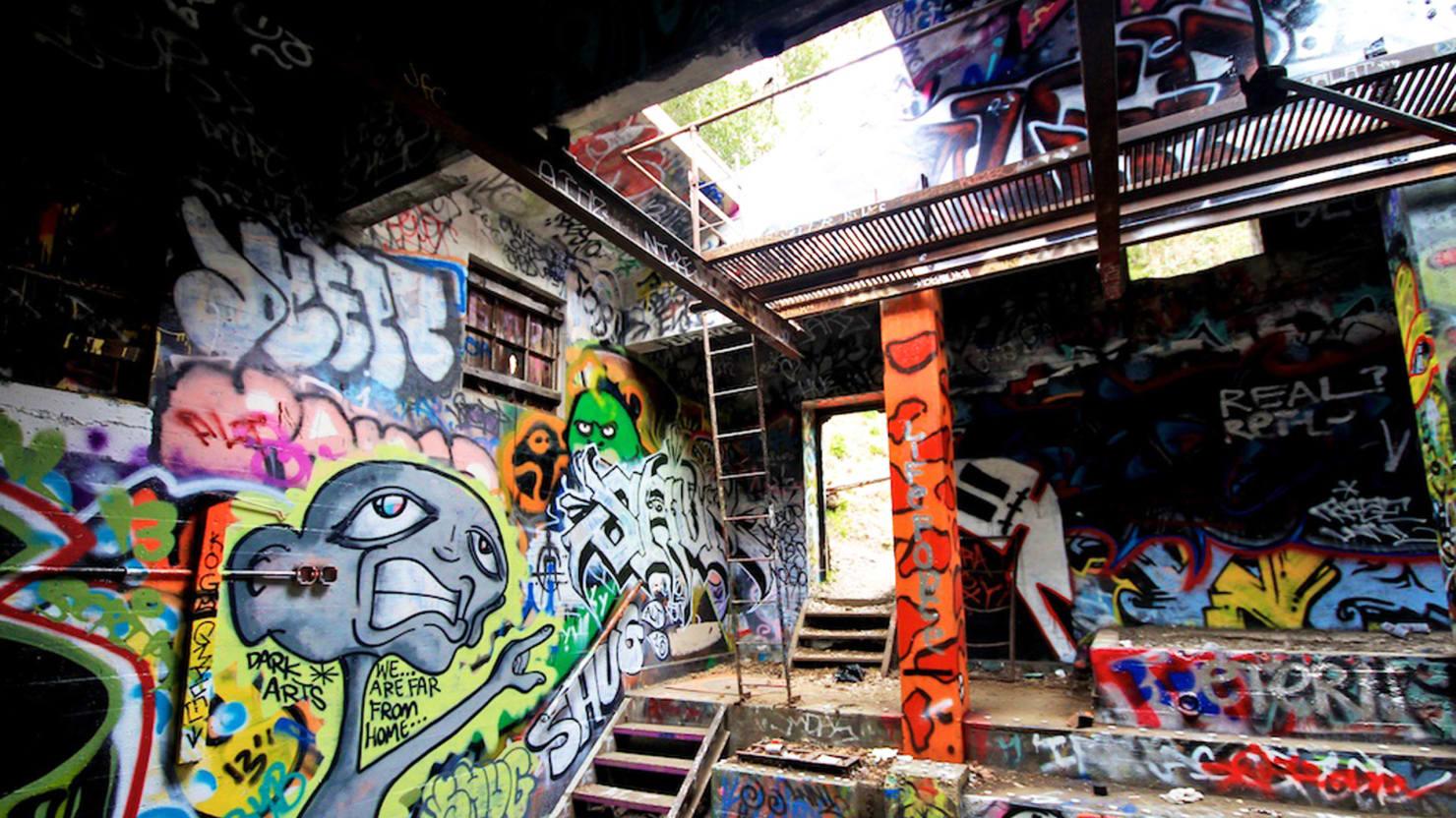 Inside Los Angeles's Abandoned Nazi Compound