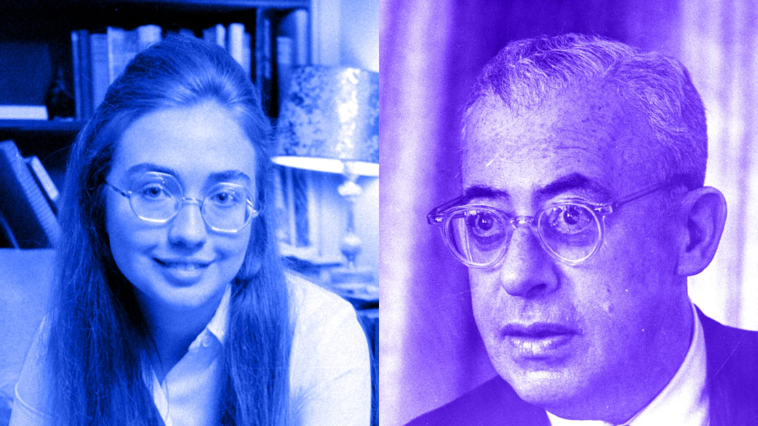 My Hunt For Hillarys Radical Thesis Photo Illustration By Sarah Rogers The Daily Beast
