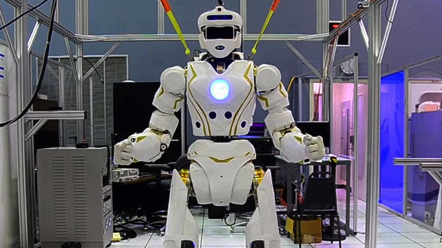 The Humanoid Robot Space Explorer