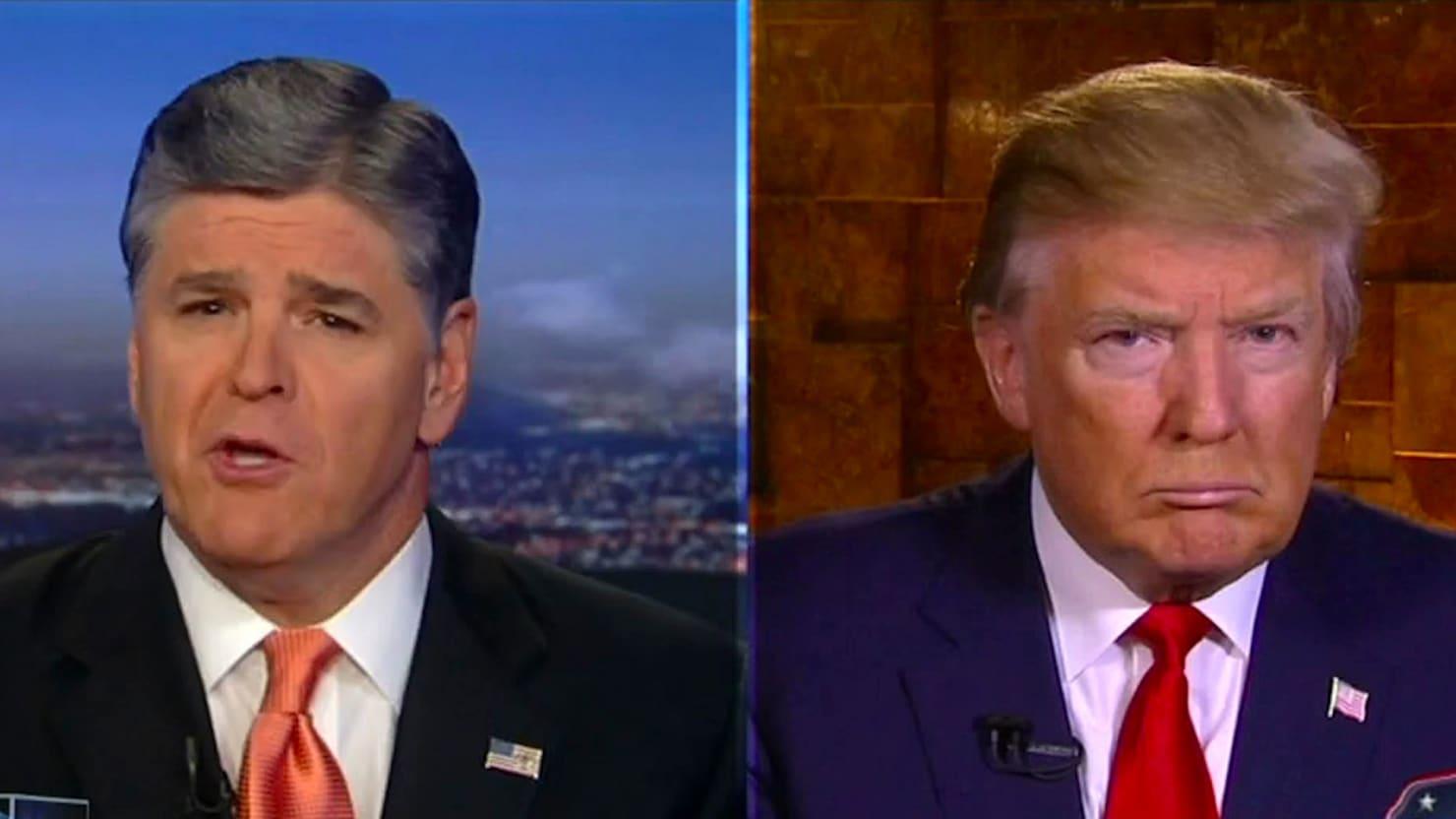 Sean Hannity Aids Donald Trump's Second Amendment Walk-Back