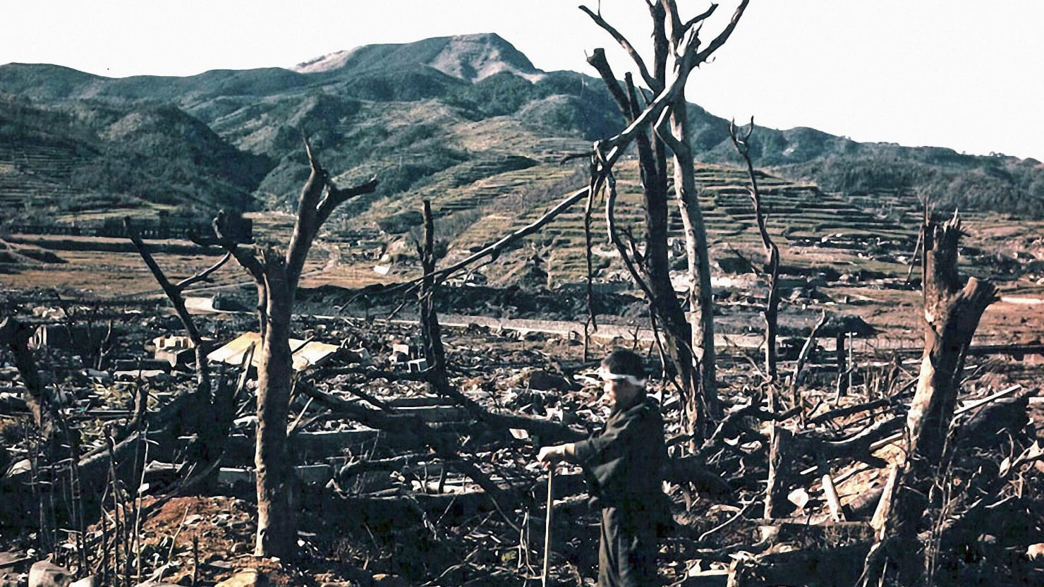Sifting Through The Wreckage Of Nagasaki