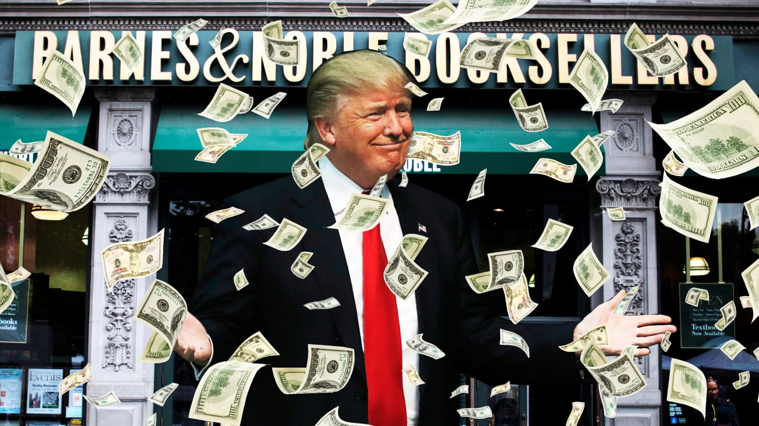 Donald Trump Used Campaign Donations to Buy $55,000 of His Own Book