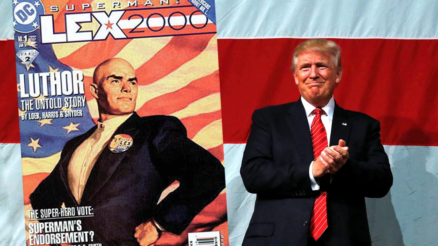 The Many Ways Donald Trump Is a Real-Life Lex Luthor