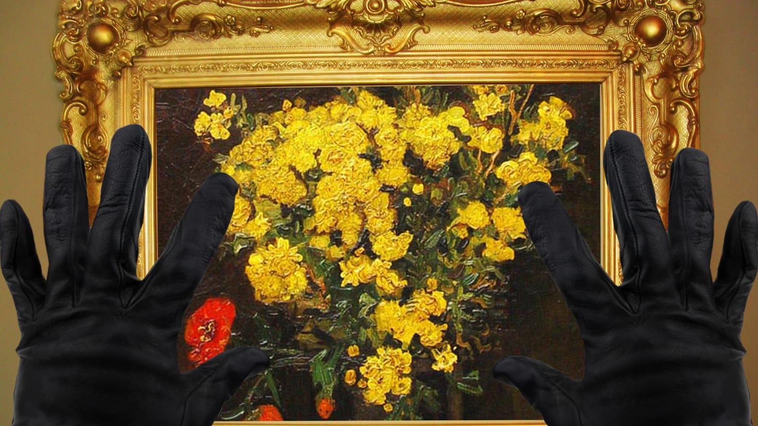 Why does van goghs poppy flowers keep getting stolen mightylinksfo