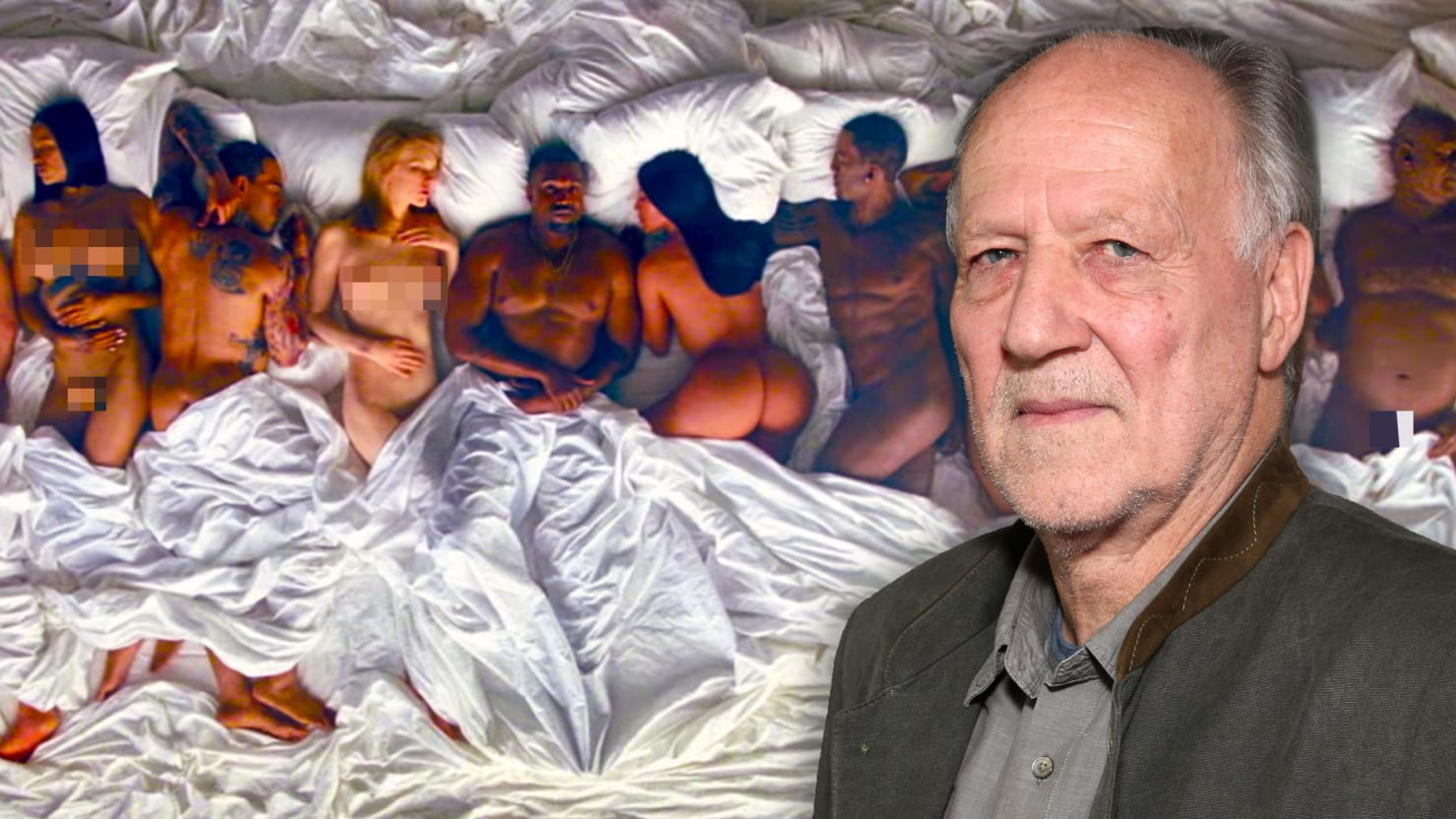 Watch: Werner Herzog Analyzes Kanye West's 'Famous' Music Video