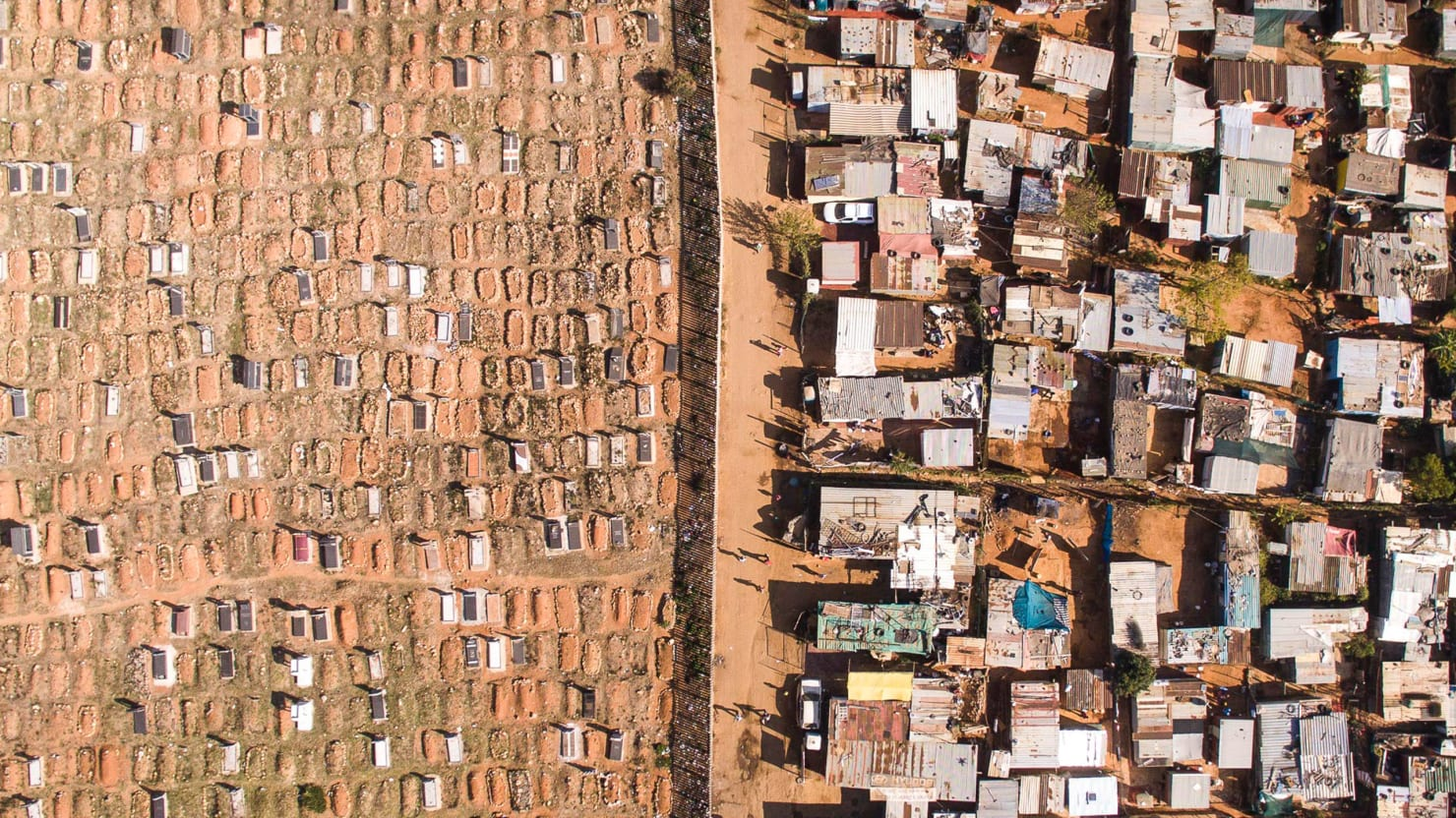 A Stark Look at South Africa from Above