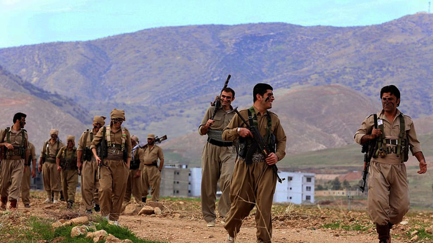 Iranian Kurds Are Rising Up Against the Mullahs