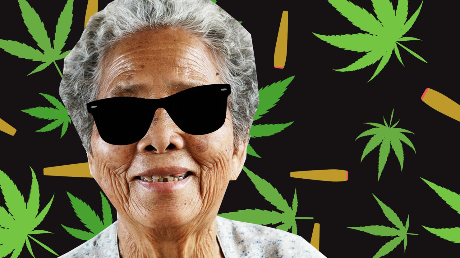 Your Grandma Needs To Be Smoking Pot