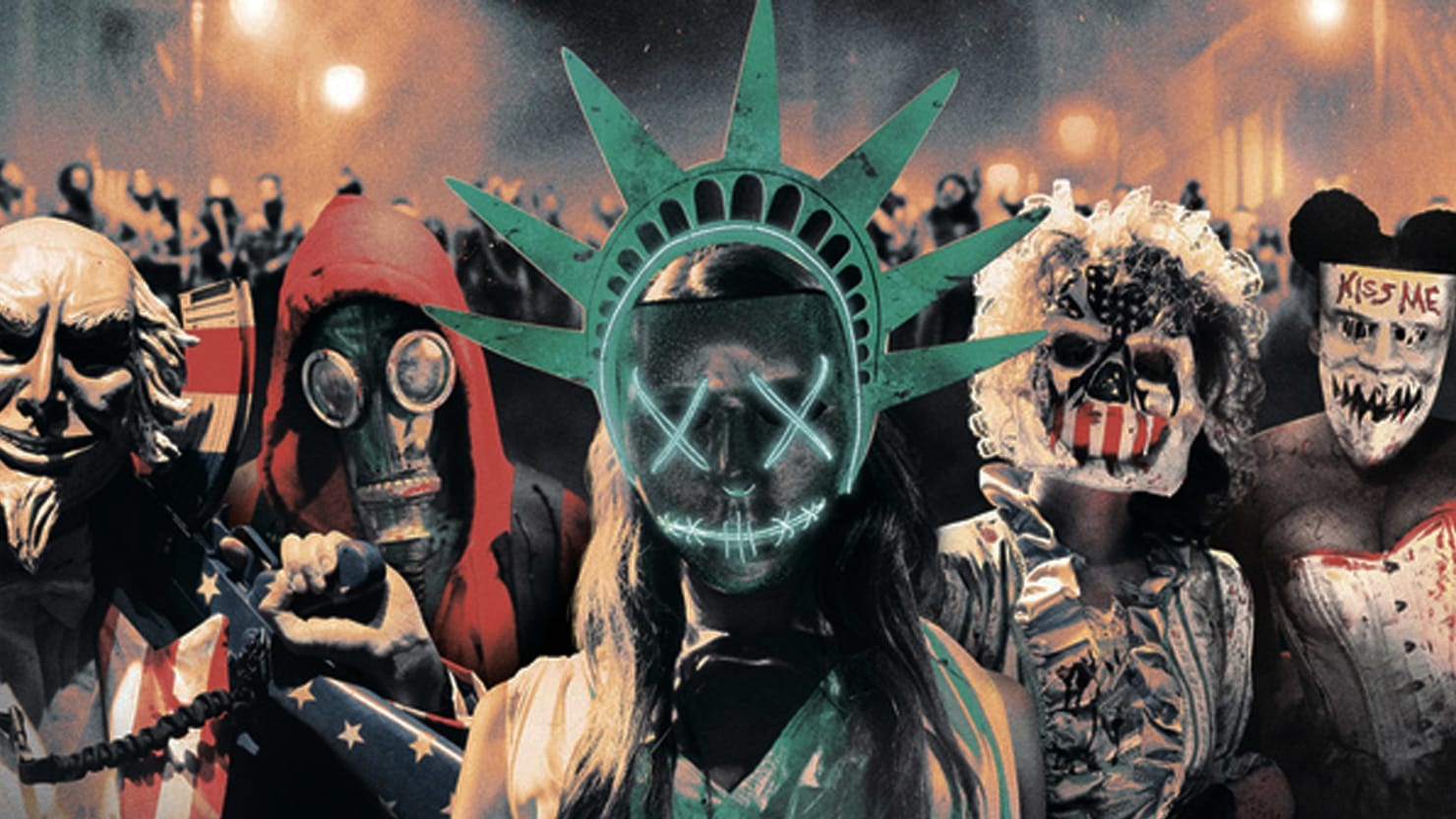 The Purge Election Year Poster Wallpapers: 'The Purge: Election Year' Is With Hillary Clinton
