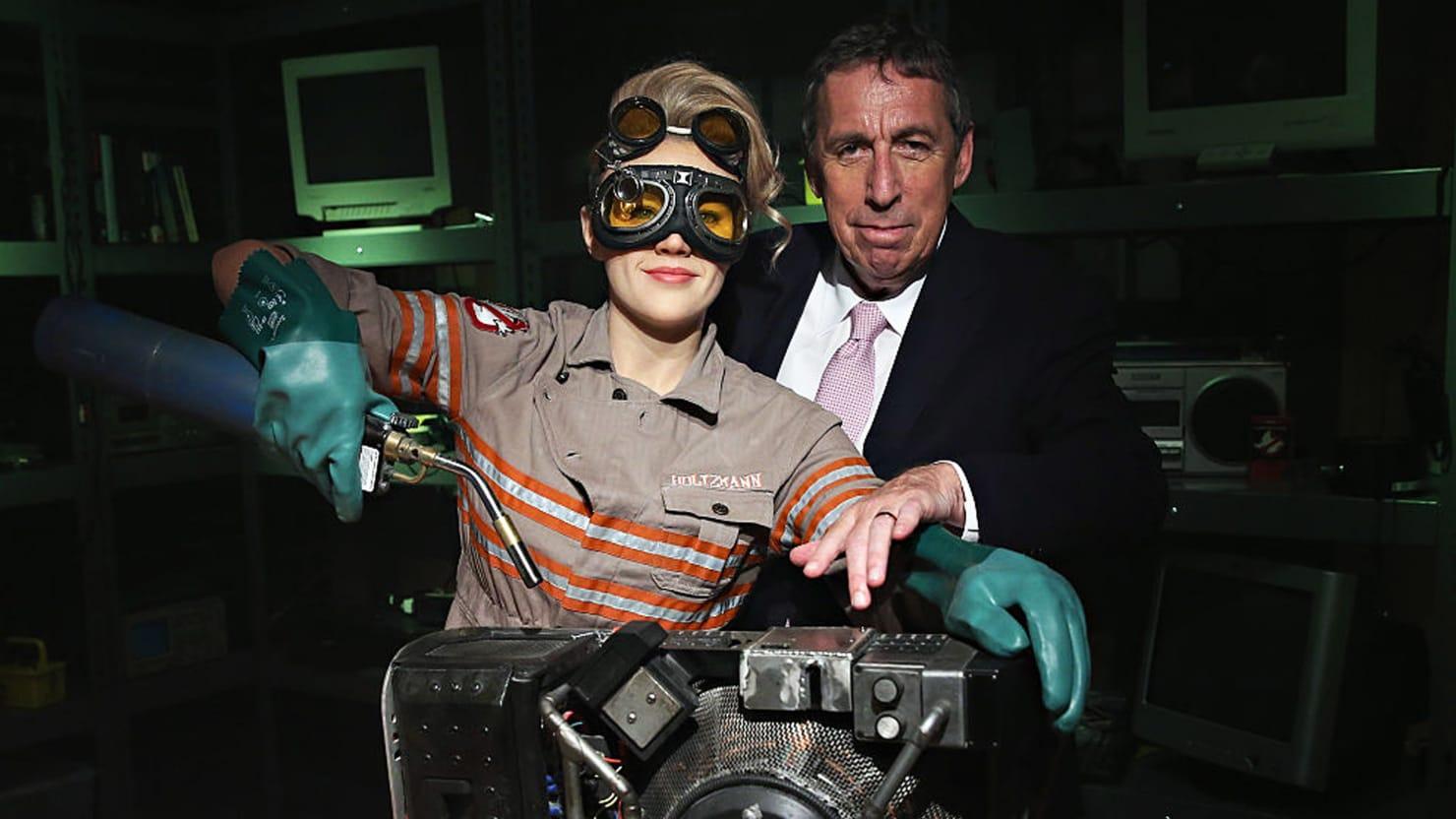 ghostbusters director ivan reitman on killing bill murray in the
