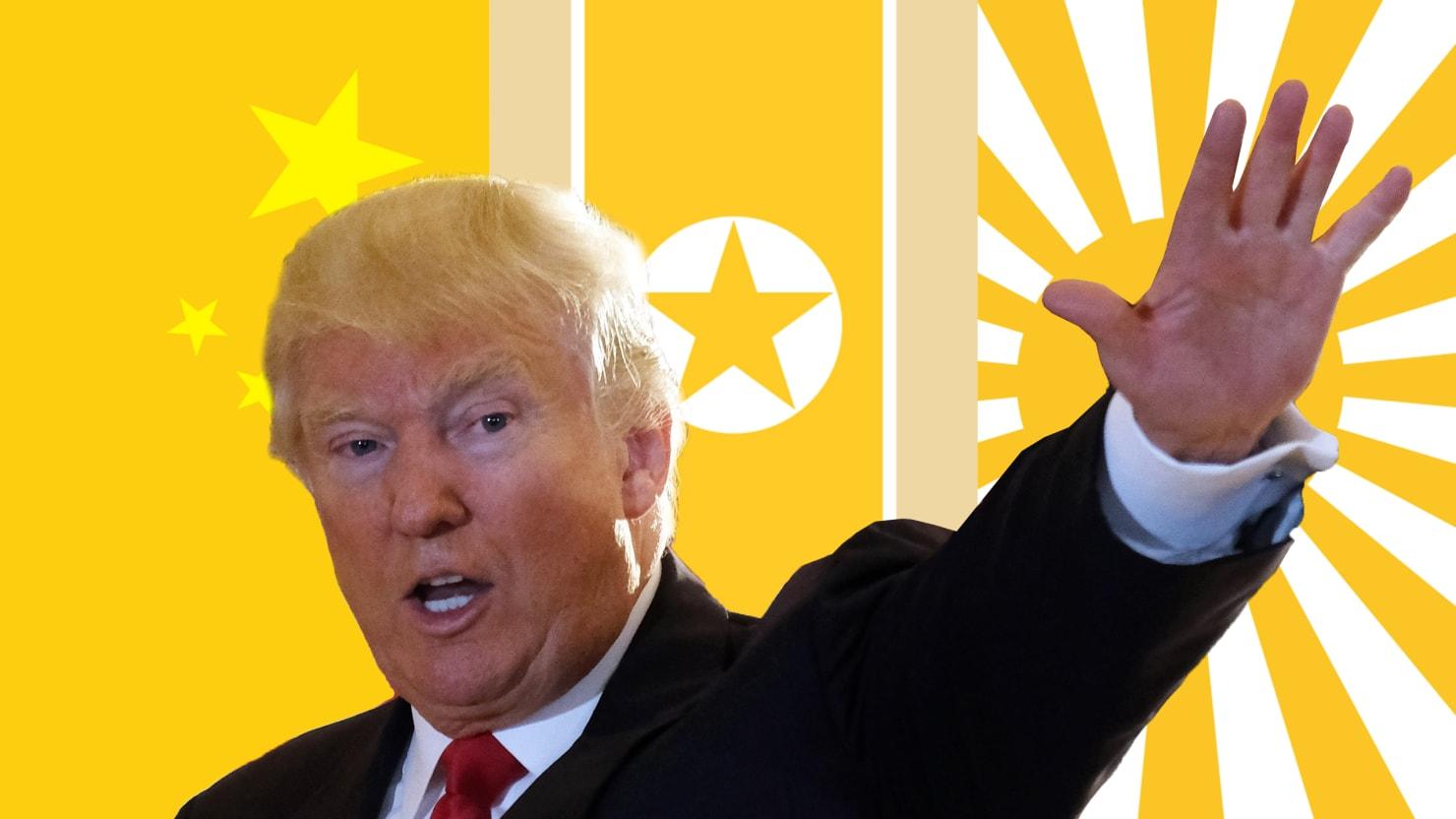 As President, Trump's 'Asia Pivot' Will Be Toward War