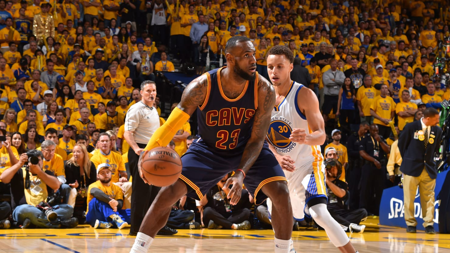 The Case for Putting LeBron James on Stephen Curry