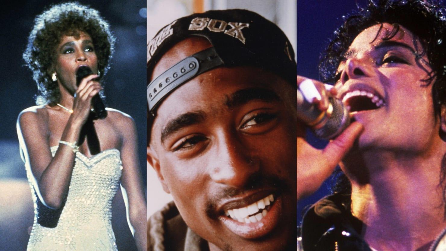 Tupac Shakur, Michael Jackson, Hatsune Miku, Whitney Houston, and Elvis: Dead Artists Are Killing It In Music