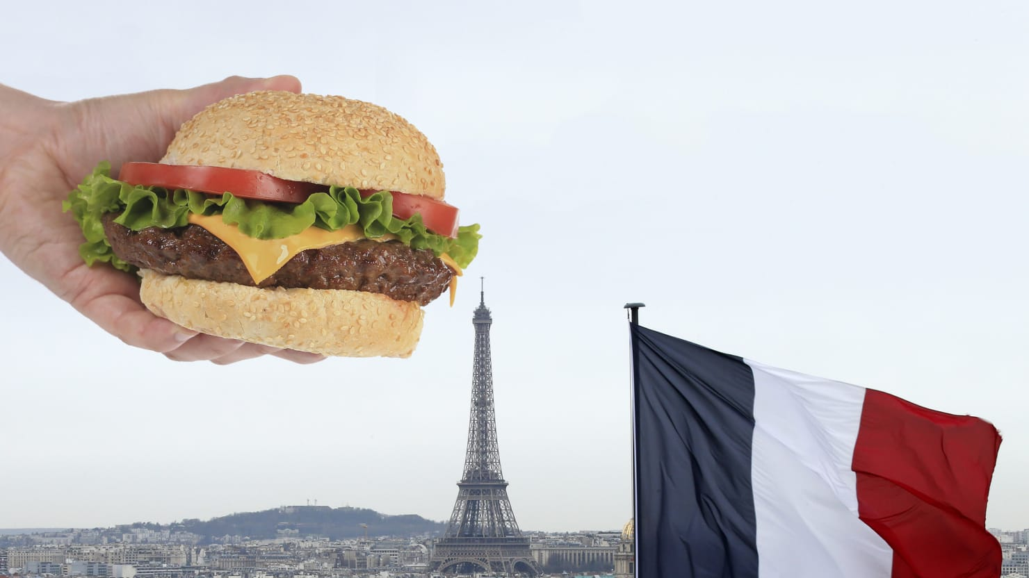 how paris became obsessed with the hamburger. Black Bedroom Furniture Sets. Home Design Ideas