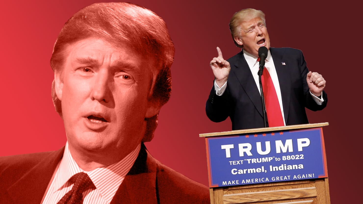 Rise V Auto >> Donald J. Trump in 2000: How I'll Be the First Celebrity ...