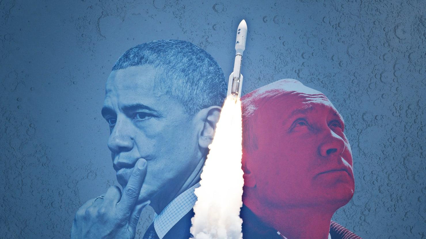 How a U.S.-Russian Space Rocket Deal Funds Putin's Cronies