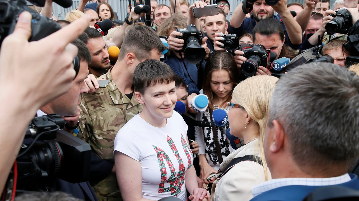 Savchenko arrived in Moscow at the appeal hearing Karpyuk and Klykh 10/26/2016 7