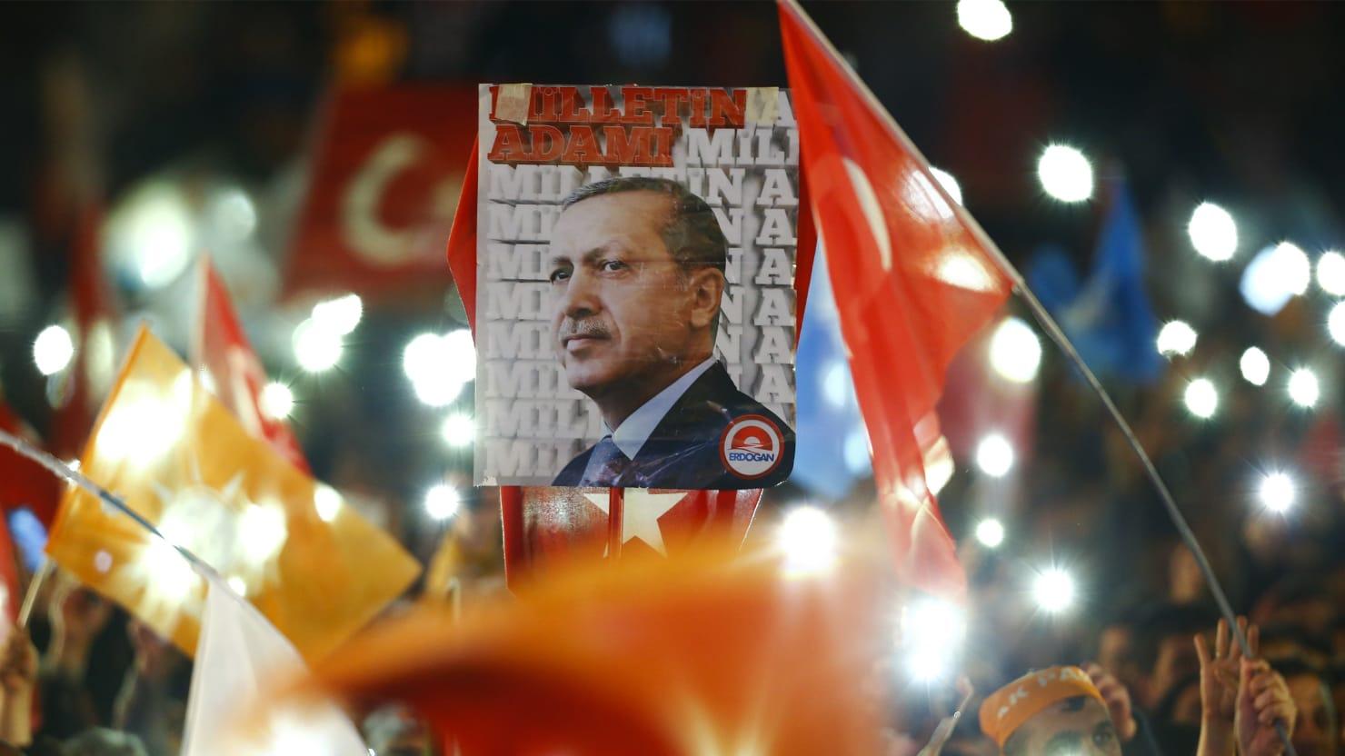 The Madness of Turkey's 'Sultan' Erdogan