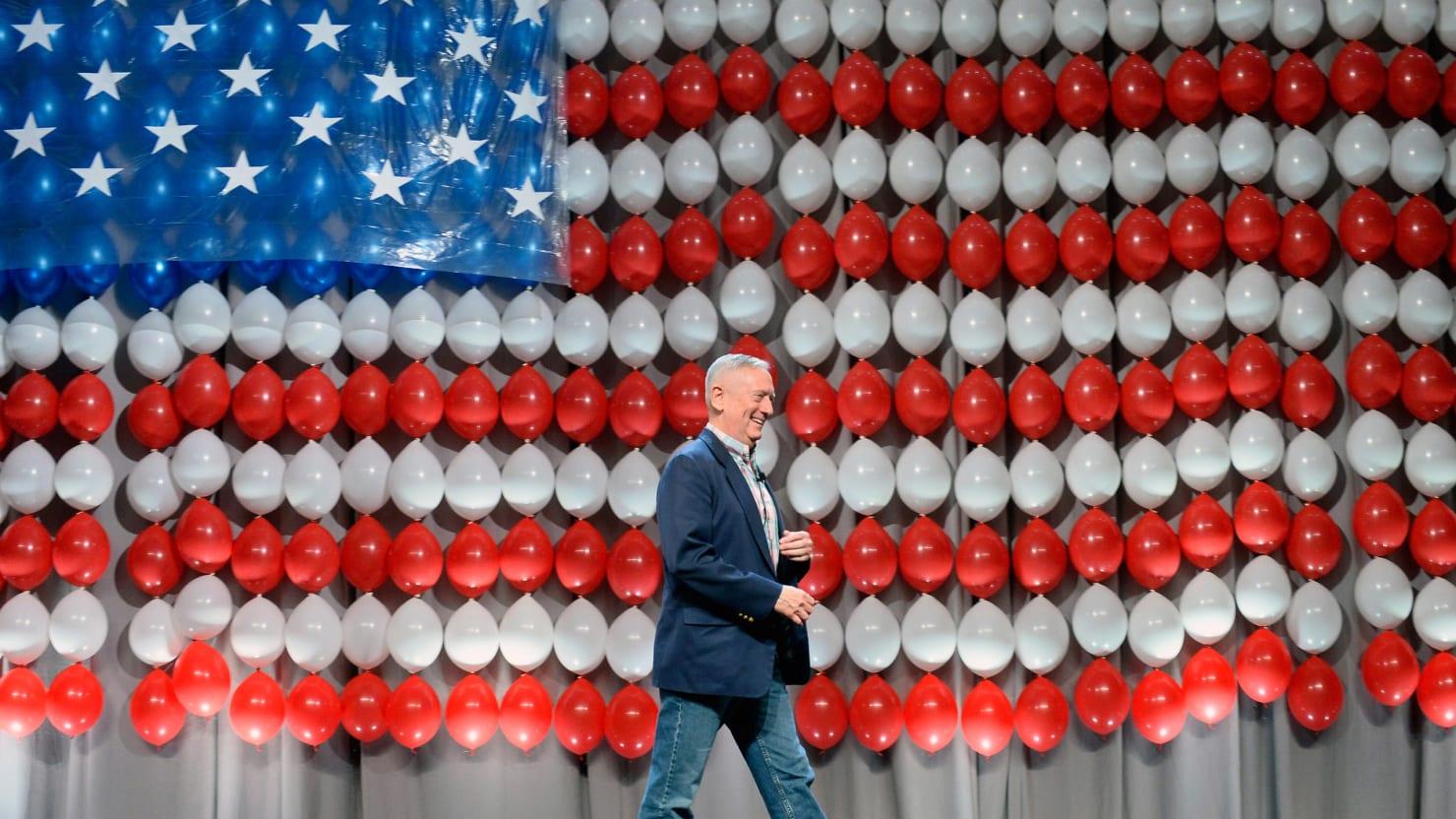 The Secret Movement to Draft General James Mattis for President
