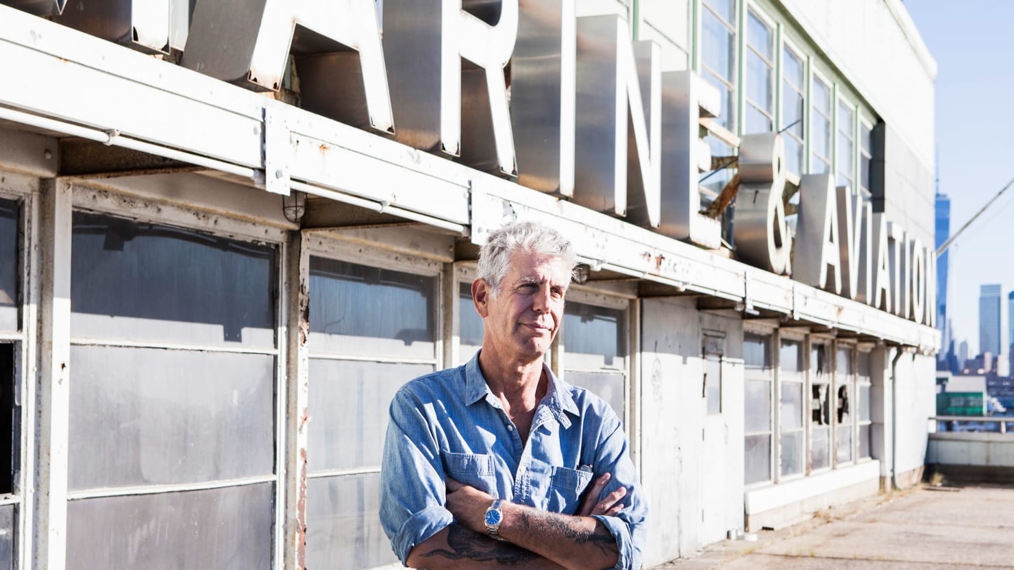 Anthony Bourdain's Top 5 New York City Restaurants—and Why the Food Network Is a 'Petri Dish'