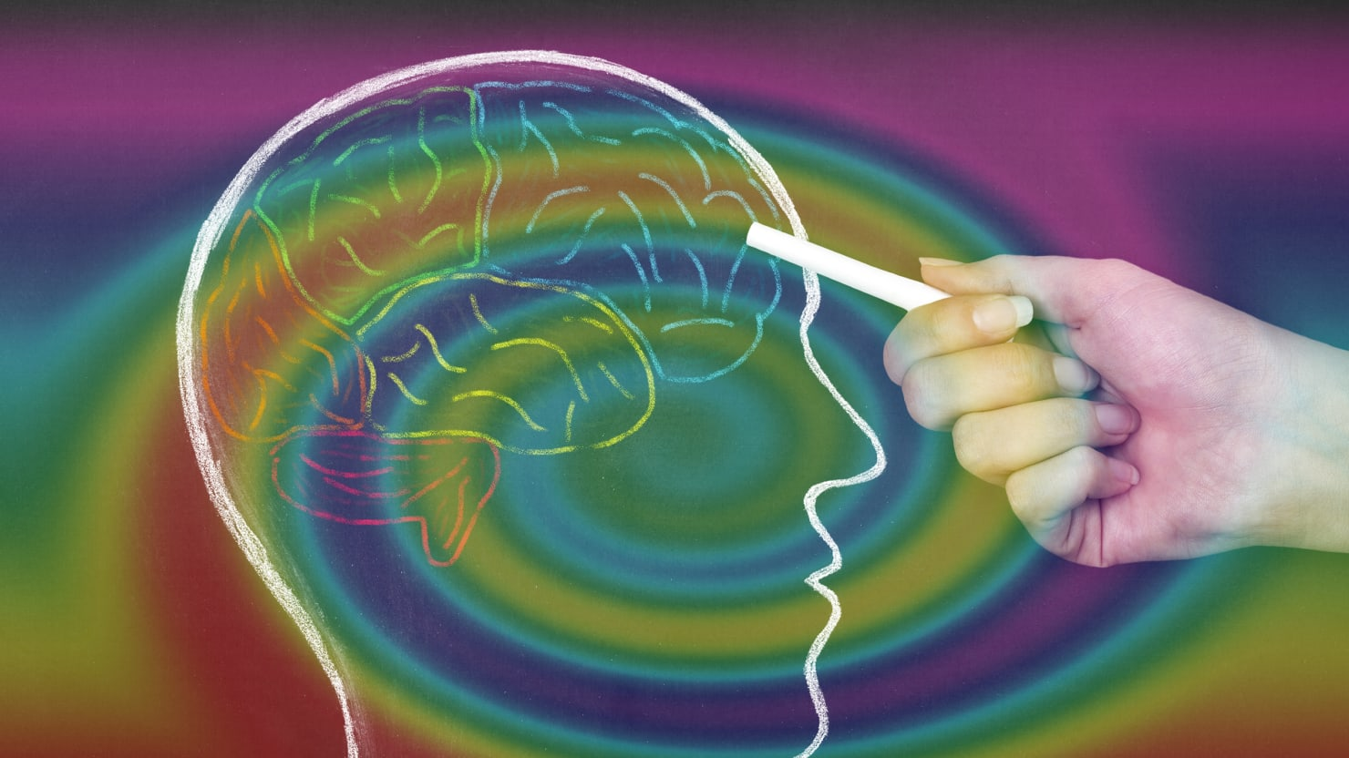 LSD Makes Your Brain More 'Flexible,' Less Anxious