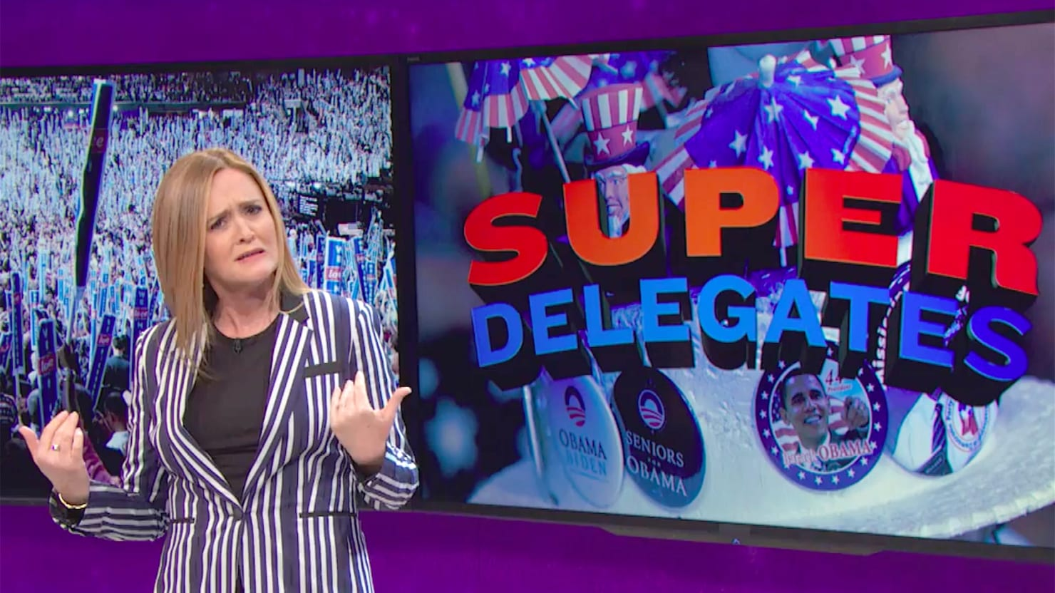 Samantha Bee Defends Superdelegates: They'll Drop Hillary So Fast for Bernie