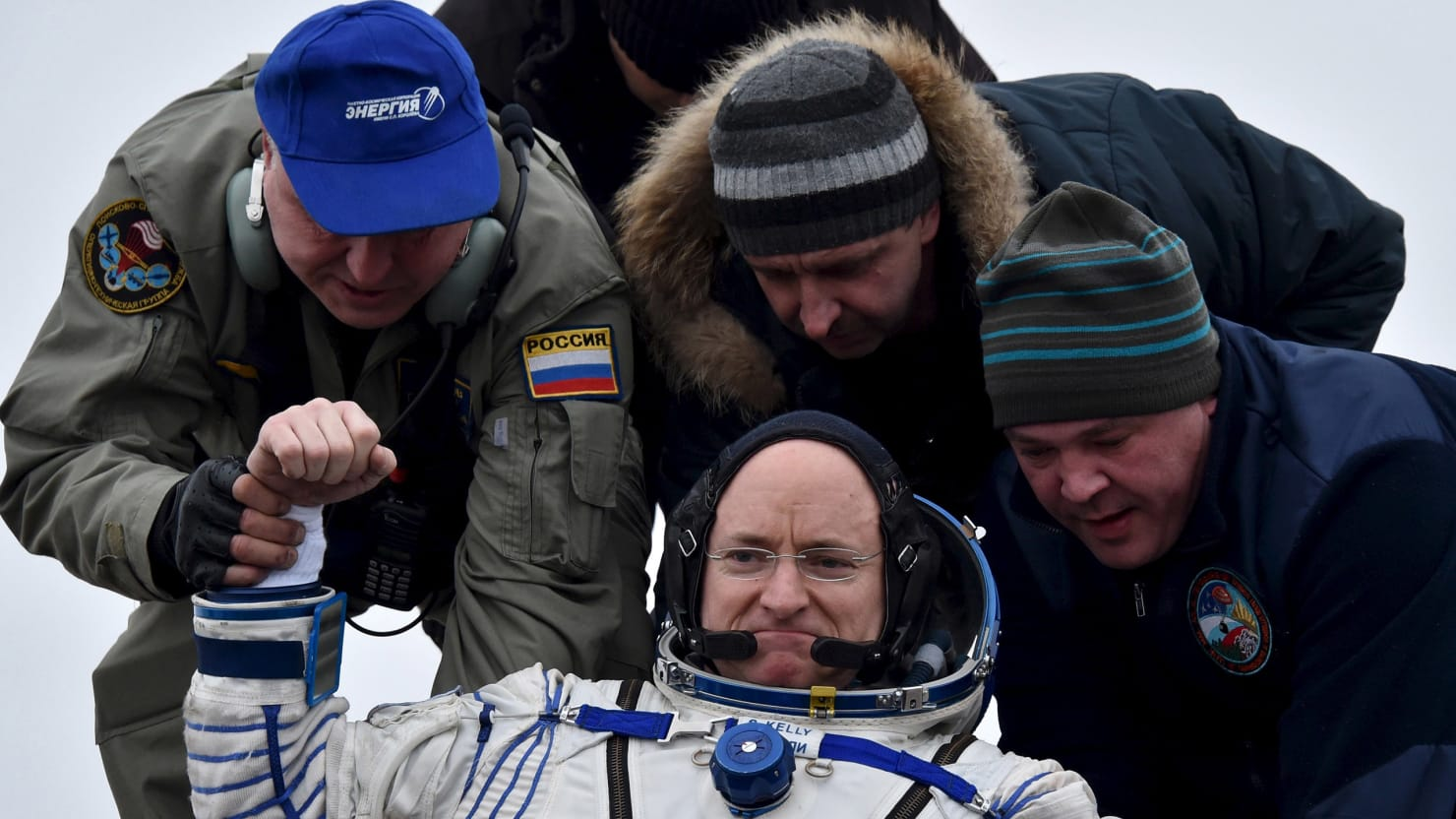 How Scott Kelly's Body Changed in Space
