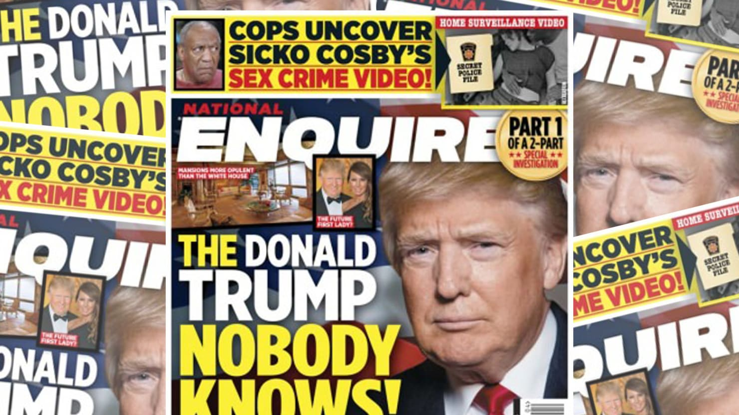Image result for national enquirer hillary covers