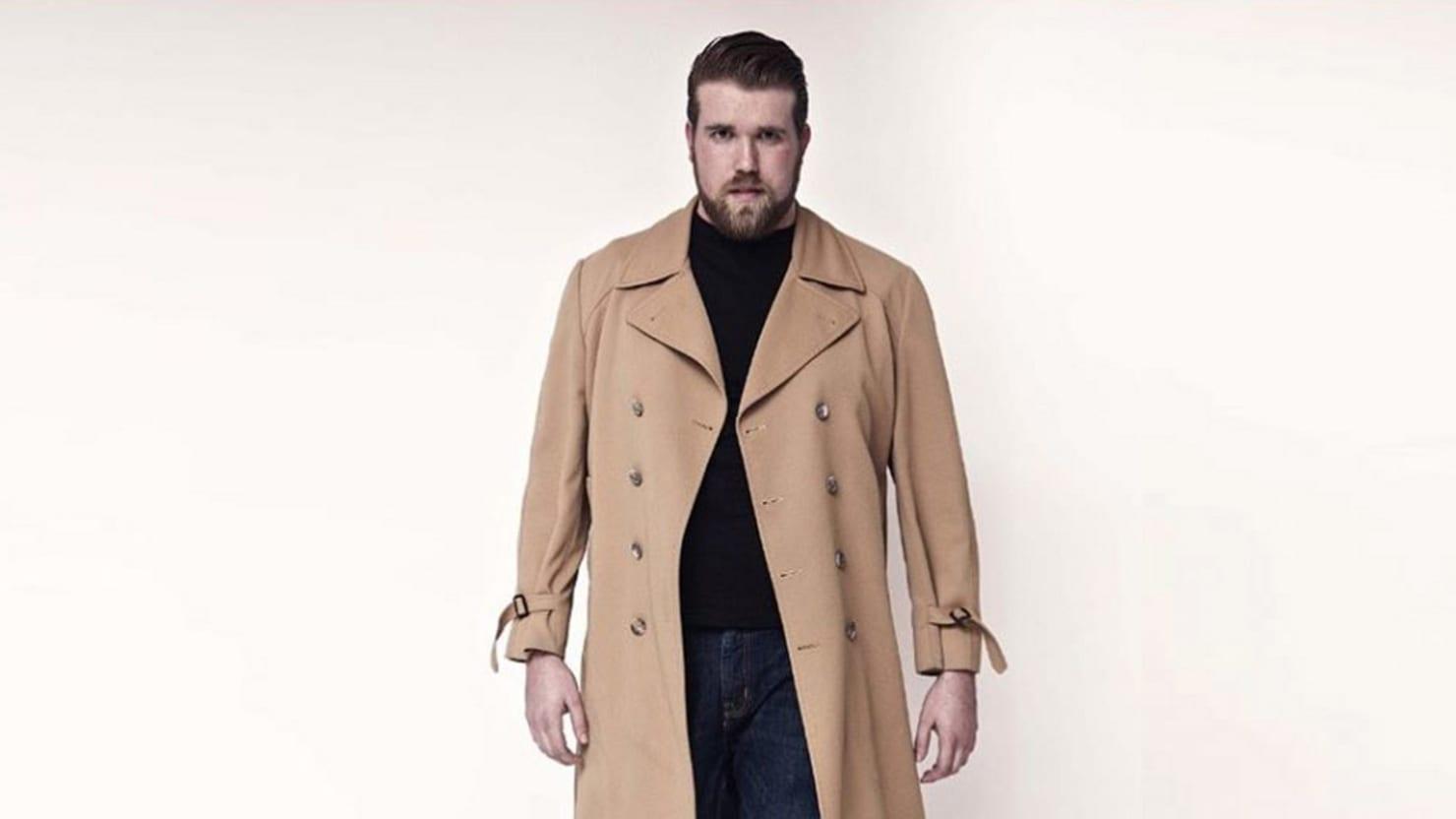 meet zach miko, the first 'brawny'—not plus-size—male model