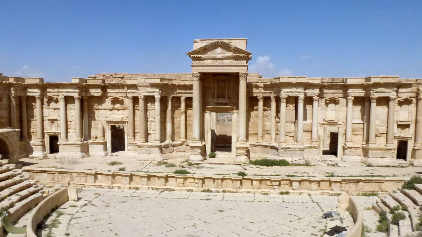 The Ruins of Palmyra Left Behind by ISIS