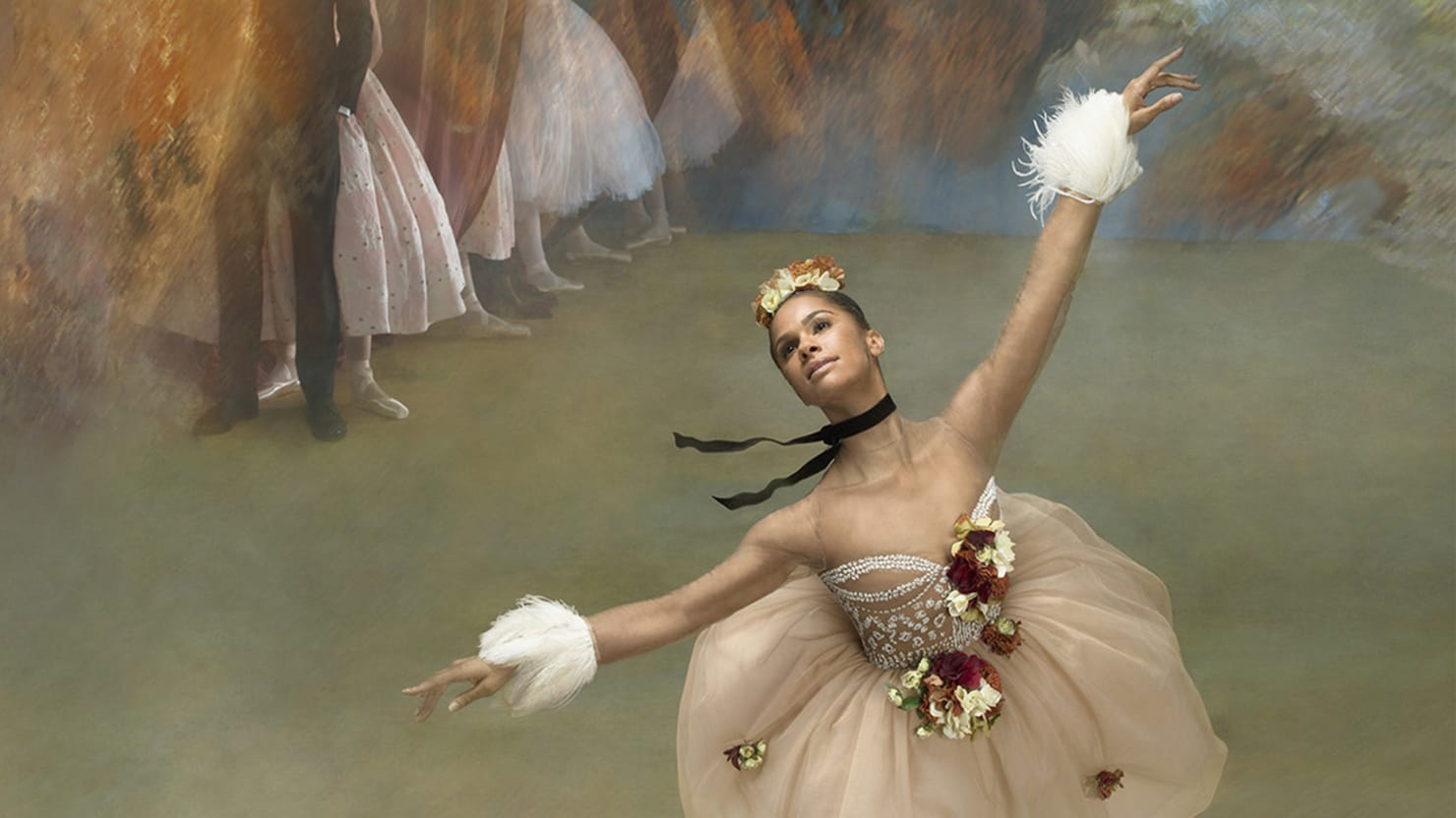 Misty Copeland Re-creates Iconic Degas Paintings