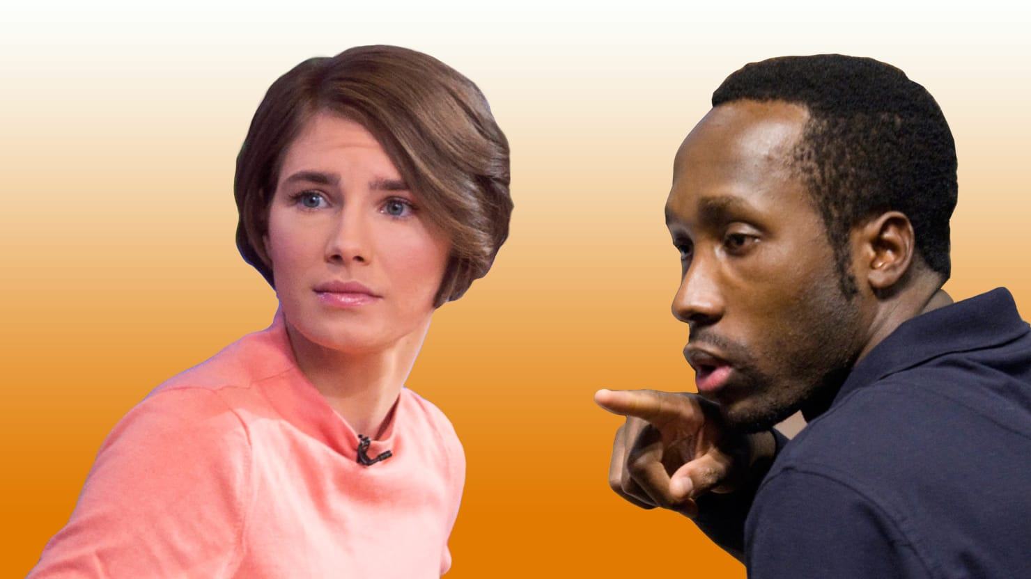 Convicted killer rudy guede im 101 certain amanda knox was there rudy guede the lone killer convicted in meredith kerchers 2007 murder gives his first ever interviewand points the finger at knox ccuart Gallery